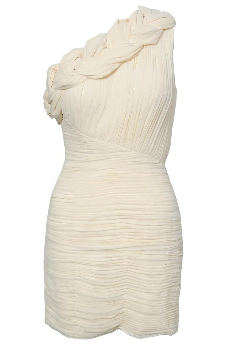 Opulence Large Plait Opposing Ruch Dress