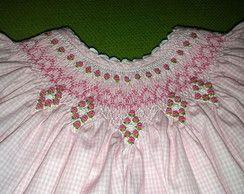 Vestido De Bebê 'Pale Pink'