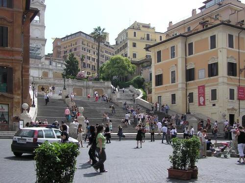 Spanish Square & the Spanish Steps