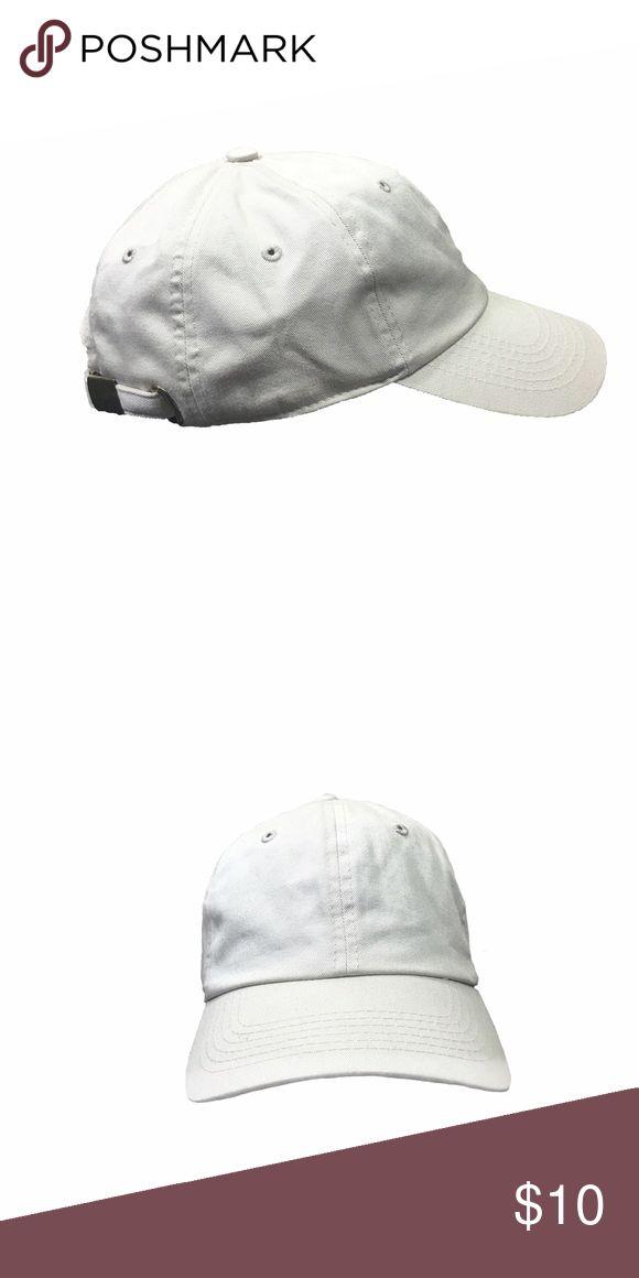 Selling this Blank Baseball Cap, Cream on Poshmark! My username is: soma_clothing. #shopmycloset #poshmark #fashion #shopping #style #forsale #Accessories #men #street #woman #cap #blank #baseball