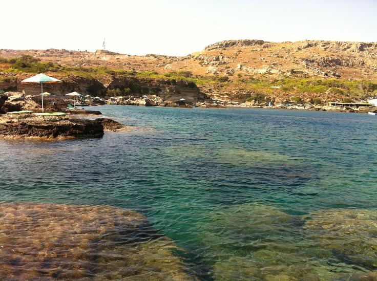 Somewhere on the island