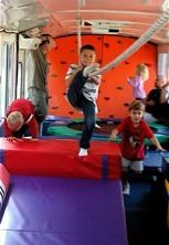 "TUMBLE BUS Toddler and Preschool Parties | Mobile Birthday Party Venue| Kids Party Bus |The Busy Bus ""Park & Play"""