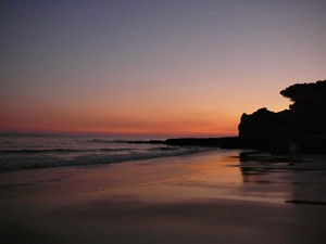 Imagine walking one of the Algarve's many safe, clean beaches as the sun sinks slowly below the horizon