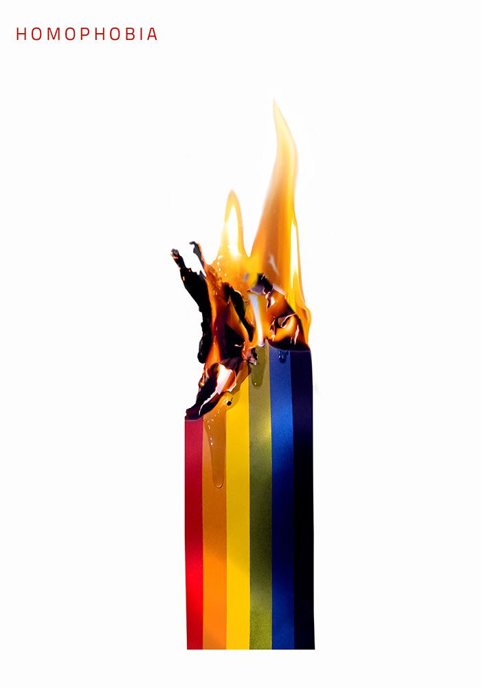 poster / homophobia / by Justyna Hajduk