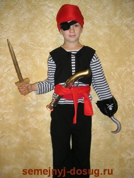 Пиратские костюмы своими руками