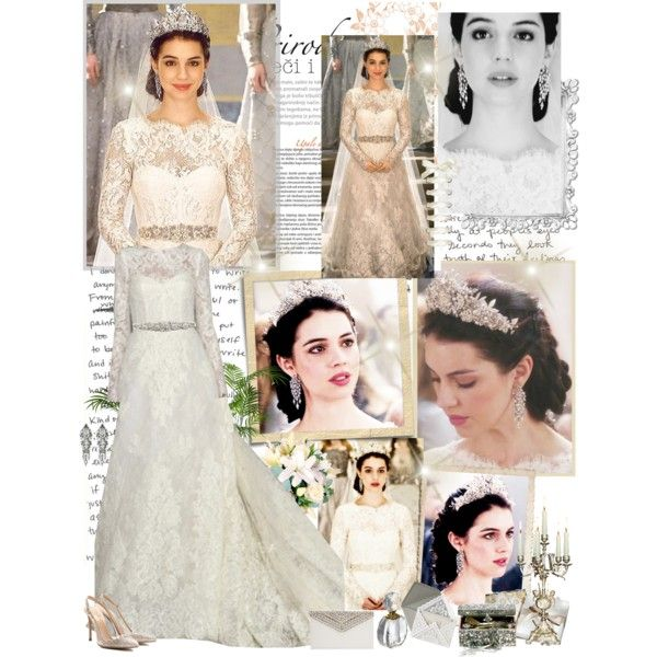 there is just something about this one, reign wedding dress -