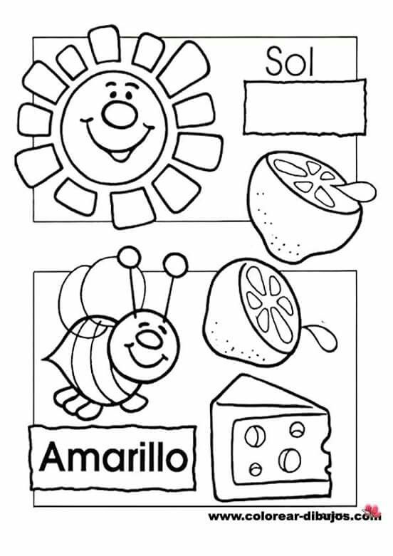 Pin by Xiomie Huff on School | Preschool colors, Preschool, Worksheets