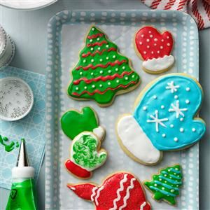 34 Christmas Cutout Cookies to Make Your Season Bright - Break out the rolling pin and your favorite stash of cookie cutters—these decorated Christmas cookies are as fun to make as they are to eat. From happy gingerbread boys to twinkling stars to that jolly old elf himself, these Christmas cutout cookie recipes make everyone feel merry.