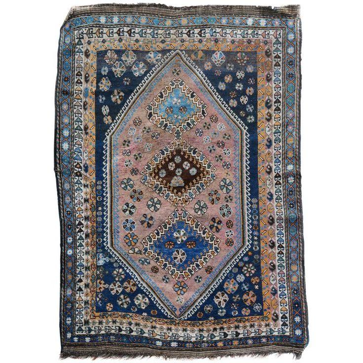 Persian Qashqai Shiraz Carpet For Sale