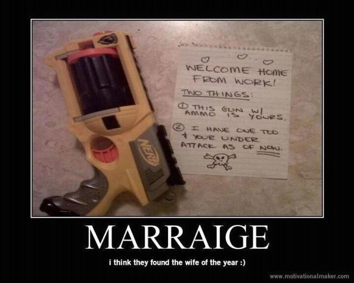I WILL do this. except I will have better grammar.: One Day, Ideas, Stuff, Nerf Gun, Wedding, Funny, Things, I Will