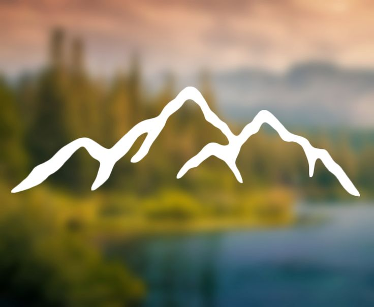 Express your individuality with a mountain range silhouette sticker! This sticker is available in many sizes. Select width in drop-down menu. Please message if youd like more customization.  Car decal or laptop sticker for outdoorsy nature types!  Water resistant, long life car decal that is removable without damaging your cars windows. Sent with instructions about how to apply your decal.  Keywords: car decal, mountains, granola, sticker, decal, outdoor sticker, nature decal, decals, car…