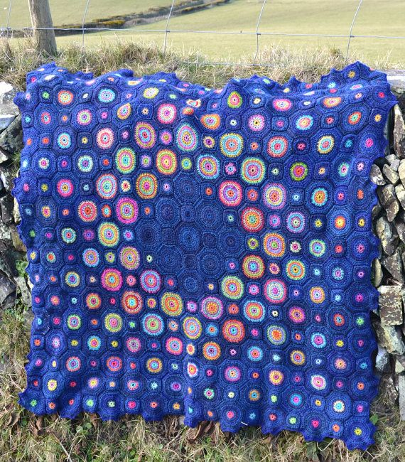 Sagittarius A Crochet Afghan/Blanket by AmandaPerkinsDesigns