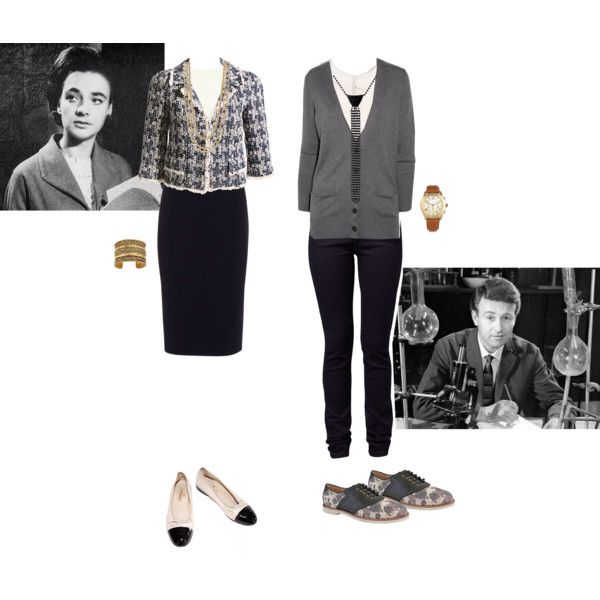 1st Doctor companions Barbara Wright & Ian Chesterton outfit