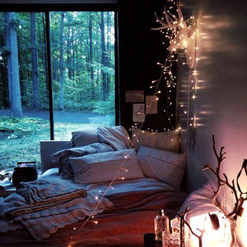 ผลการค้นหารูปภาพสำหรับ aesthetic tree house bedroom