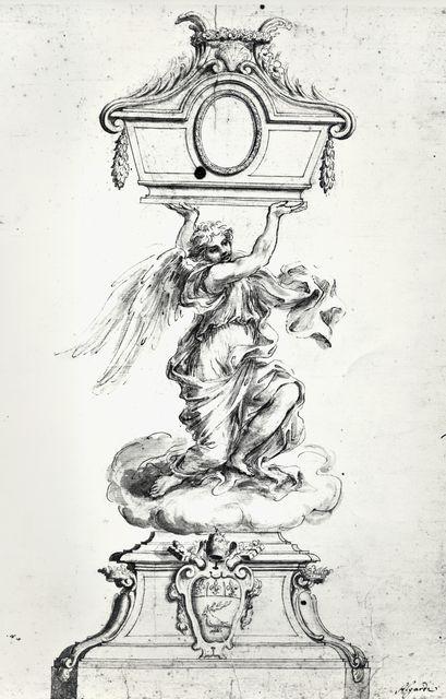 Savio, Oscar , Algardi Alessandro - sec. XVII - Reliquiario con lo stemma di papa Innocenzo X - insieme