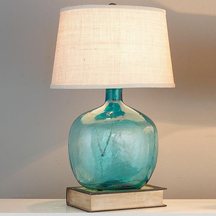 Demijohn Table Lamp   8 Colors