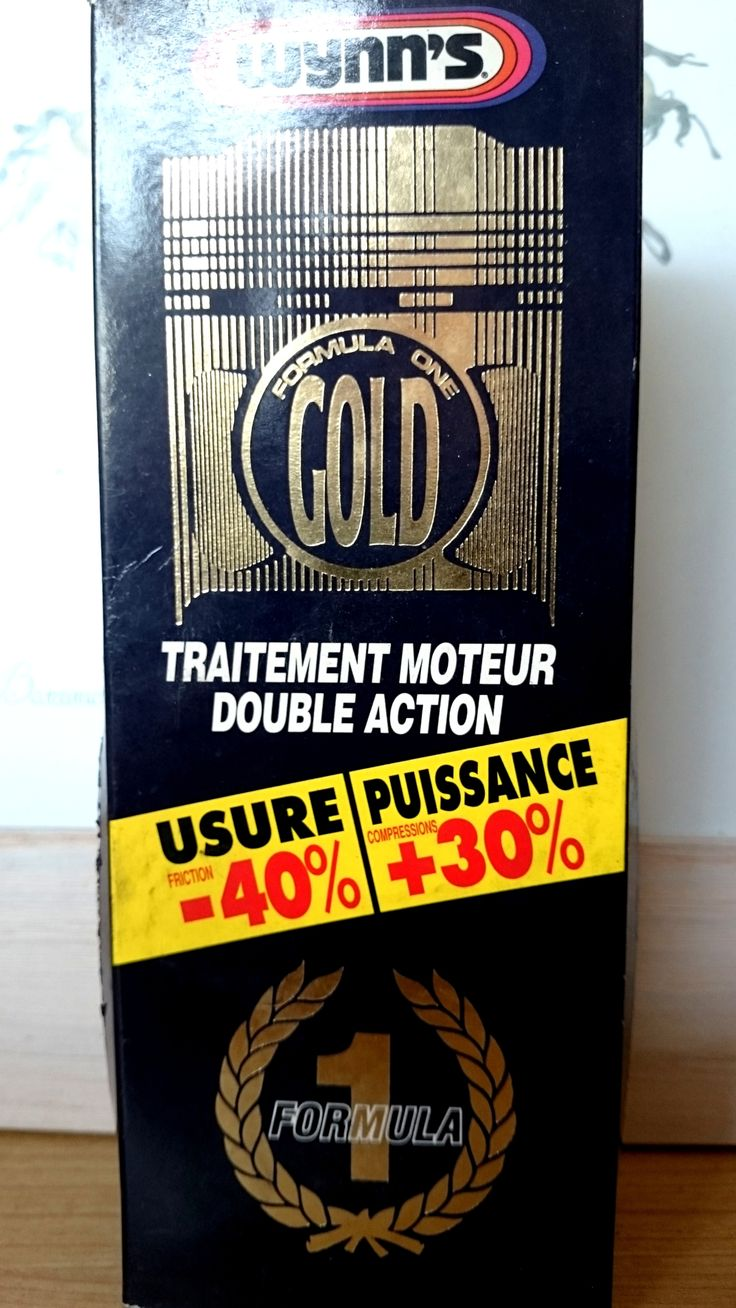 wynn's traitement moteur double action formula one gold NEUF (codeJL) - ACCESSOIRES AUTO CAMION POIDS LOURD - magic-affaires-22