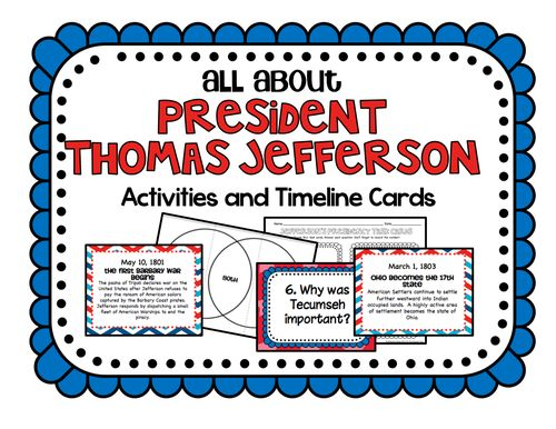 a history of the presidency of thomas jefferson The life and career of thomas jefferson, the author of the declaration of independence and the third president of the united states.