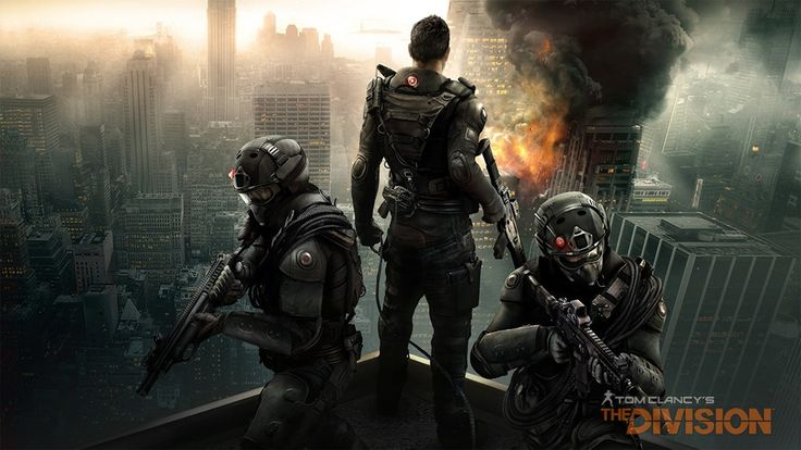 Tom Clancy Division With Destroy HD Wallpaper