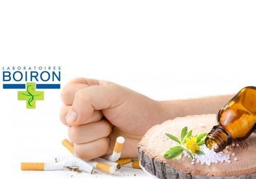 KIT HOMEOPATHIQUE POUR ARRÊTER DE FUMER DU TABAC BOIRON pour fumeur fortement dépendant.