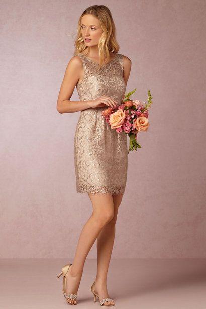 Superb Shimmery Sheath Dress bridesmaid Motherofthebride