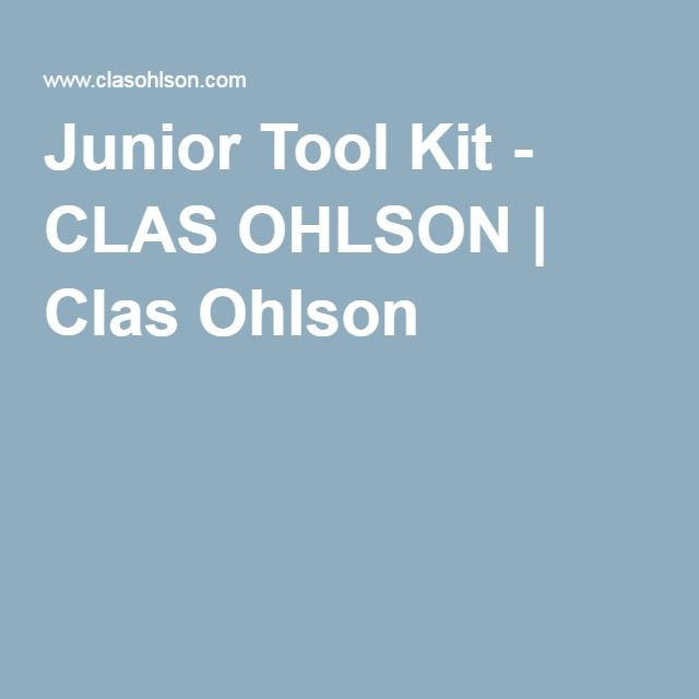 Junior Tool Kit - CLAS OHLSON | Clas Ohlson