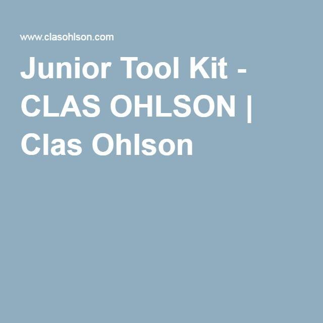 Junior Tool Kit - CLAS OHLSON | Clas Ohlson