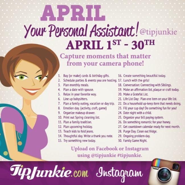 April Personal Assistant