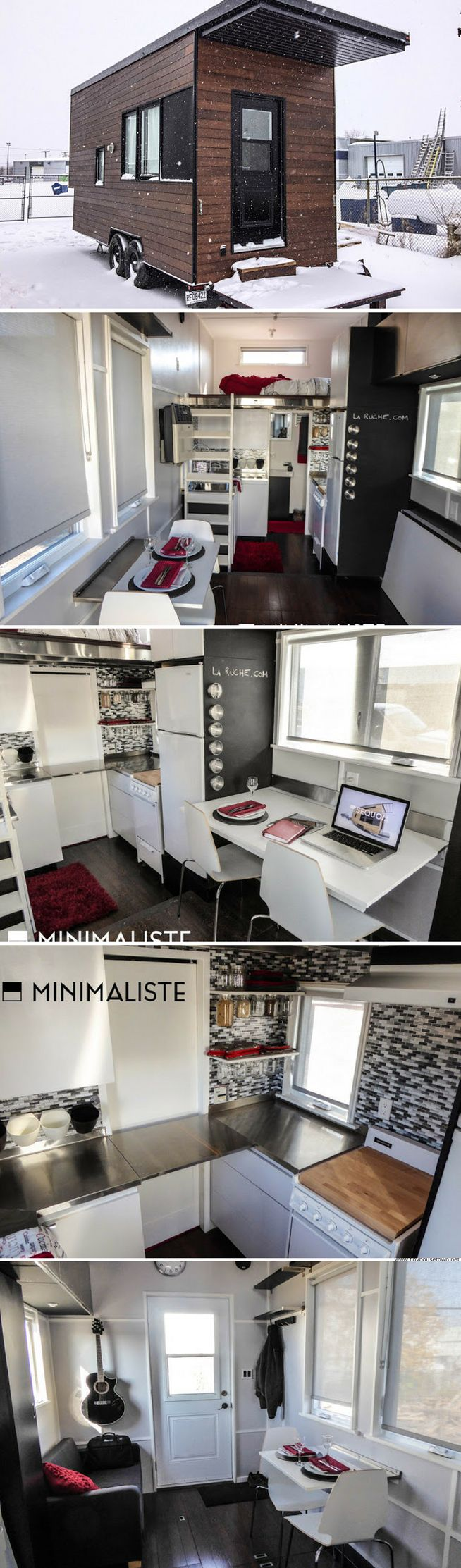 The Sequoia tiny house from Minimaliste