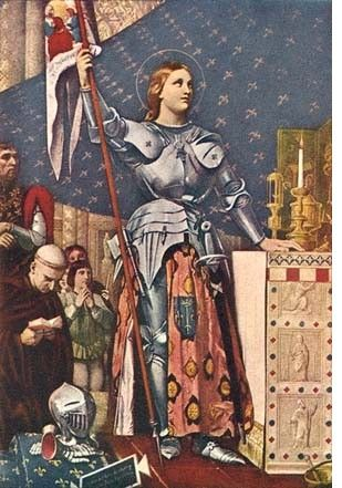 I would invite Joan Of Arc just to High Five her and say 'Way ta go girl!'