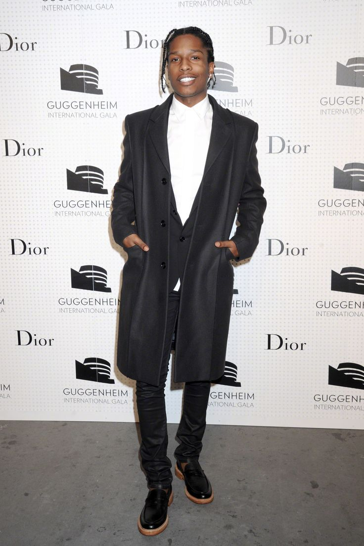 """A$AP Rocky """"Our team really likes this man. He always know how to dress. Trendsetter. Big love!"""" Clothingjoy.com team"""