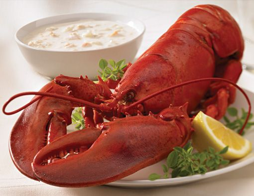 Legal Seafood - if you're ever around one, stop in for the best clam chowder and raw oysters!