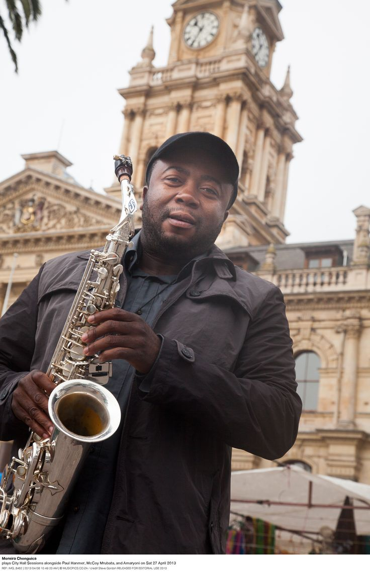 Photographed in front of the Cape Town City Hall for City Hall Sessions by photographer Steve Gordon - April 2013
