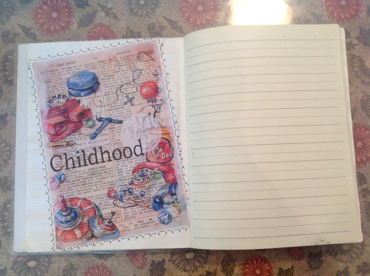 A journal page