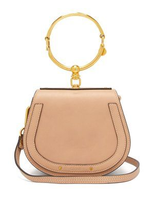 ec2b8a781dcb Nile small leather and suede cross-body bag