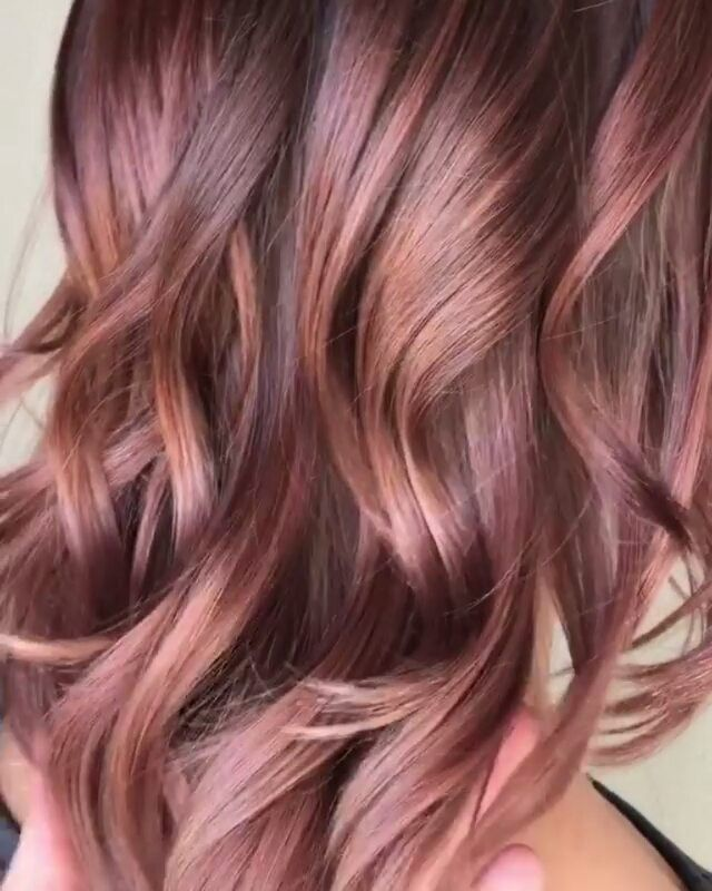 * Deep in Rose ... Glorious blend by @southmarksouth using @matrixusa Equal parts: 8N+6WN+5RV #btcquickie #behindthechair