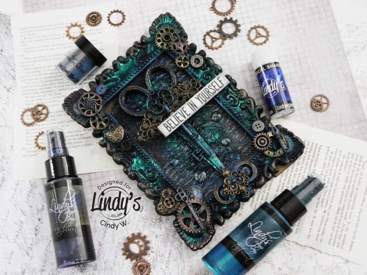 Altered Picture Frame for Lindy's - CinsCreations
