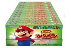 Nintendo Sour 3-Dees Gummies TB (Display)