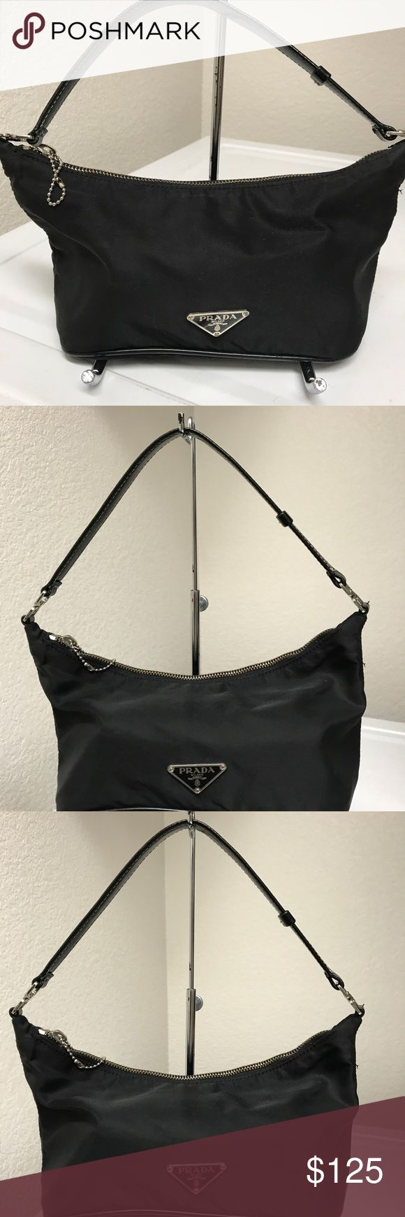 Prada Satchel Great condition authentic bag just the pull tab on zipper is missing. Prada Bags Satchels