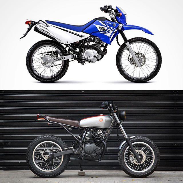 Antes e depois - Cabrita - Yamaha 125cc 0km.
