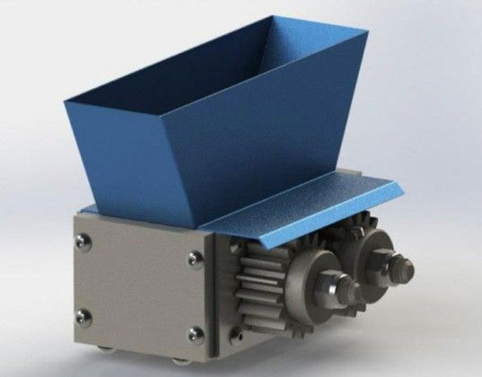 filamaker, marcus thymark, 3d printing, filament, recycling, plastic, reprocessing grinding, shredding, shredder