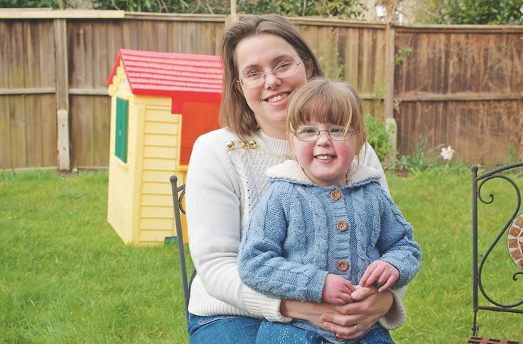 Louise George, 37 from Bucks, explains how Action Medical Research helped her daughter, Jessica, who has hypoplastic left heart syndrome