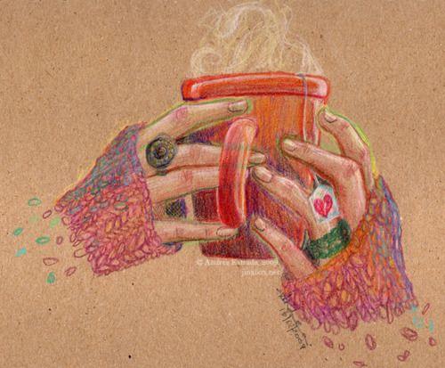 Coffee!!la vida pasa por el color!! #vida #color @anatonia @patygallardo @elcolorcomunica