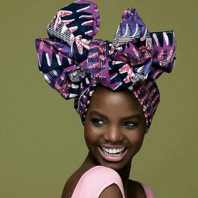 Beautiful headwrap. Laid to perfection