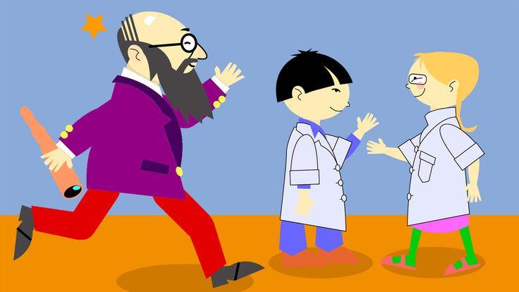 Alakouluikäisille suunnatussa fysiikan ja kemian sarjassa kysytään, mistä maailma on tehty. Miten luontoa voi tutkia? Entä mitä maailmasta ennen ajateltiin? (Lyhyitä videoita, YLE.)
