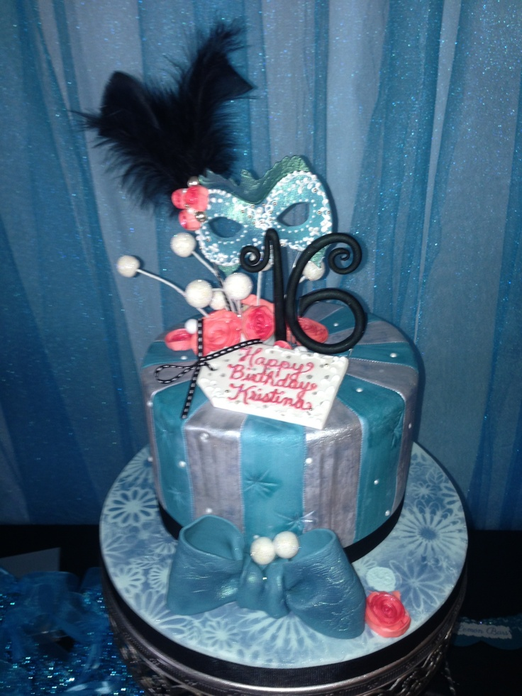 150 Best Sweet Sixteen Cake Ideas Images On Pinterest