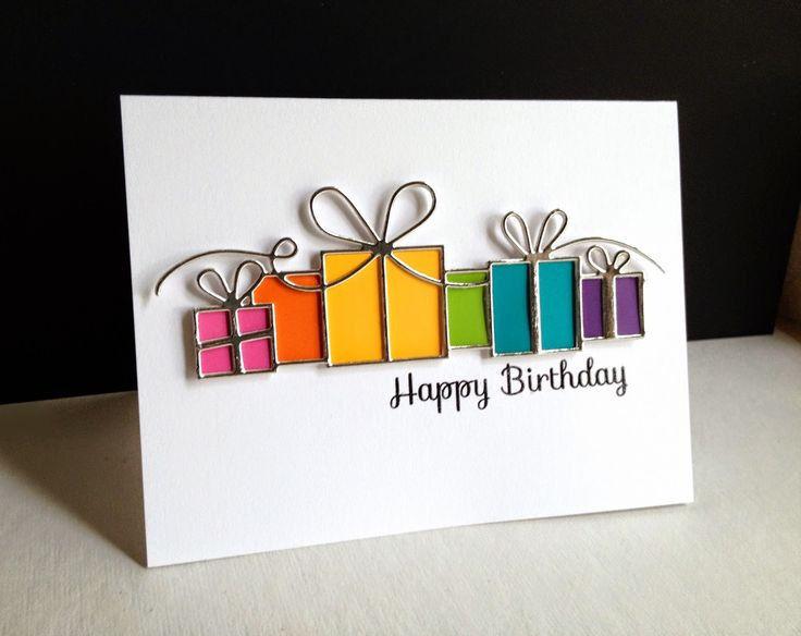 The 25 best Handmade birthday cards ideas – Handmade Happy Birthday Cards