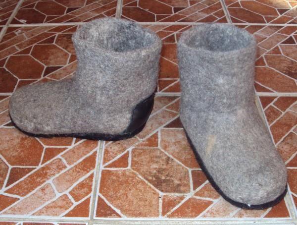 Деревенская обувь