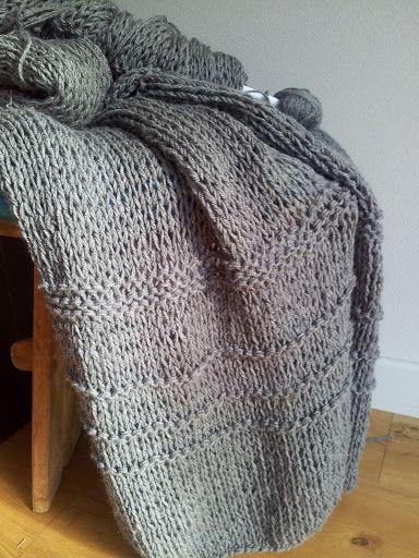 DIY: snel en makkelijk een deken breien | Only Handmade loves...