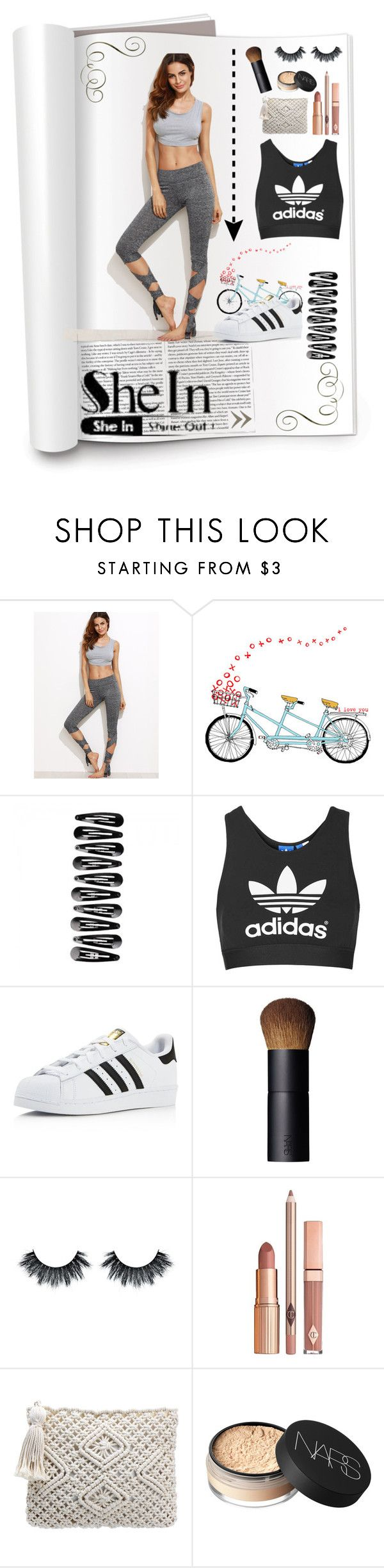 """xx"" by rhiannonpsayer on Polyvore featuring xO Design, Topshop, adidas, NARS Cosmetics, Dolce Vita, Beauty, women, fashionset and 2016"